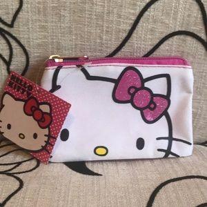 Small Hello Kitty Zipper Bag